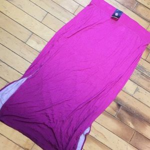 Ana a new approach NEW maxi skirt ombré xl pink